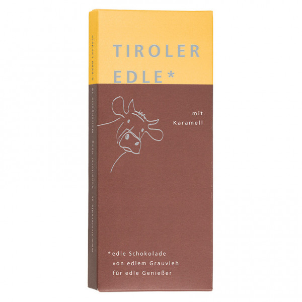 Tiroler Edle* Karamell (50g)