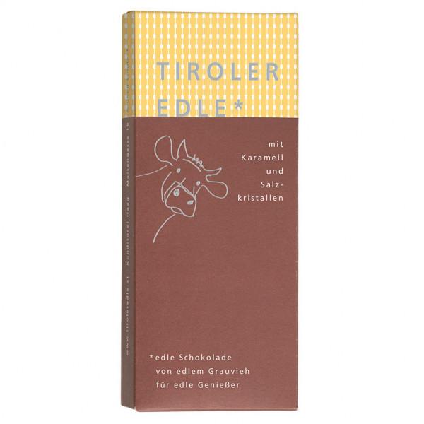 Tiroler Edle* Karamell und Salzkristalle (50g)