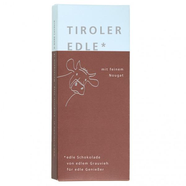Tiroler Edle* mit feinem Nougat (50g)